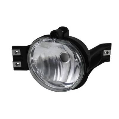 Headlights & Tail Lights - Fog Lights - Spyder - Dodge Ram Spyder OEM Fog Lights - No Switch - Clear - Right - FL-DR02-OEM-R