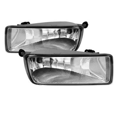 Headlights & Tail Lights - Fog Lights - Spyder - Ford Explorer Spyder OEM Fog Lights - Clear - FL-FEXP07-C