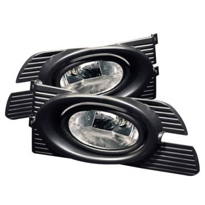 Headlights & Tail Lights - Fog Lights - Spyder Auto - Honda Accord 4DR Spyder OEM Fog Lights -Clear - FL-HA01-4D-C