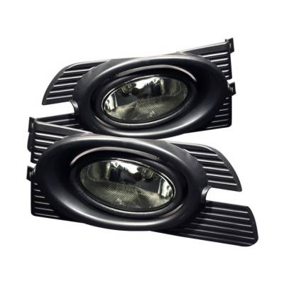 Headlights & Tail Lights - Fog Lights - Spyder Auto - Honda Accord 4DR Spyder OEM Fog Lights - Smoke - FL-HA01-4D-SM