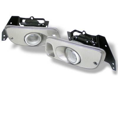Headlights & Tail Lights - Fog Lights - Spyder - Honda Civic 2DR & 3DR Spyder OEM Fog Lights - Clear - FL-HC92