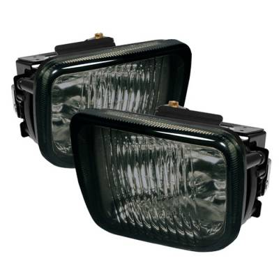 Headlights & Tail Lights - Fog Lights - Spyder Auto - Honda Civic Spyder OEM Fog Lights - Smoke - FL-HC96-SM