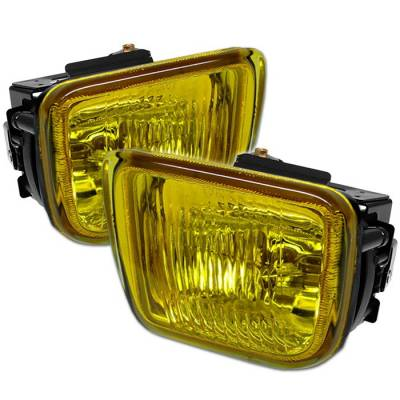 Headlights & Tail Lights - Fog Lights - Spyder Auto - Honda Civic Spyder OEM Fog Lights - Yellow - FL-HC96-Y