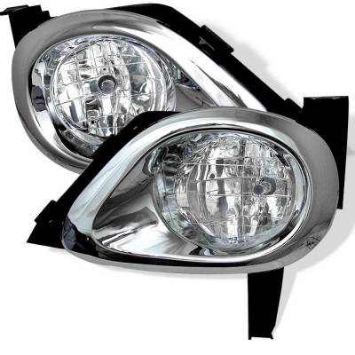 Headlights & Tail Lights - Fog Lights - Spyder - Honda CRV Spyder OEM Fog Lights - Clear - FL-HCRV05