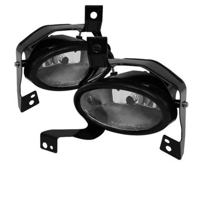 Headlights & Tail Lights - Fog Lights - Spyder - Honda CRV Spyder OEM Fog Lights - Clear - FL-HCRV2010-C