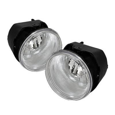 Headlights & Tail Lights - Fog Lights - Spyder - Jeep Grand Cherokee Spyder OEM Fog Lights - Clear - FL-JGC05-C
