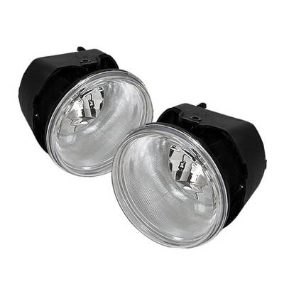 Headlights & Tail Lights - Fog Lights - Spyder - Mitsubishi Raider Spyder OEM Fog Lights - Clear - FL-JGC05-C