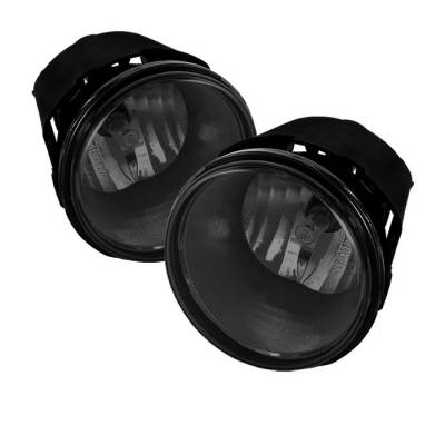 Headlights & Tail Lights - Fog Lights - Spyder - Dodge Durango Spyder OEM Fog Lights - Smoke - FL-JGC05-SM