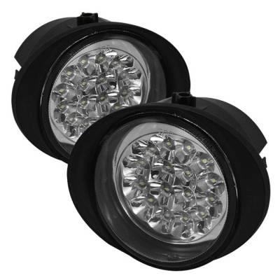 Headlights & Tail Lights - Fog Lights - Spyder - Infiniti FX45 Spyder LED Fog Lights - FL-LED-NA02-C