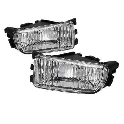 Headlights & Tail Lights - Fog Lights - Spyder - Lexus GS Spyder OEM Fog Lights - No Switch - Clear - FL-LGS98-C