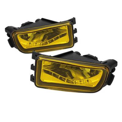 Headlights & Tail Lights - Fog Lights - Spyder - Lexus GS Spyder LED Fog Lights - No Switch - Yellow - FL-LGS98-LED-Y