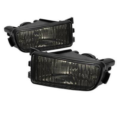 Headlights & Tail Lights - Fog Lights - Spyder - Lexus GS Spyder OEM Fog Lights - No Switch - Smoke - FL-LGS98-SM