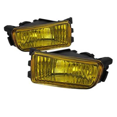 Headlights & Tail Lights - Fog Lights - Spyder - Lexus GS Spyder OEM Fog Lights - No Switch - Yellow - FL-LGS98-Y