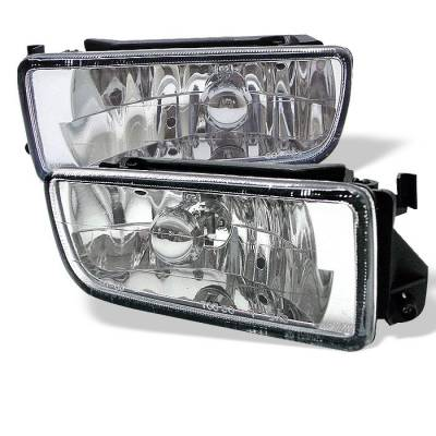Headlights & Tail Lights - Fog Lights - Spyder - BMW 3 Series 2DR Spyder Euro Fog Lights - No Switch - Euro - FL-LH-BE36-E