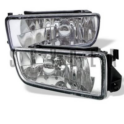 Headlights & Tail Lights - Fog Lights - Spyder Auto - BMW 3 Series Spyder Euro Fog Lights - FL-LH-BE36-E