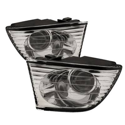 Headlights & Tail Lights - Fog Lights - Spyder - Lexus IS Spyder OEM Fog Lights - No Switch - Clear - FL-LIS01-C