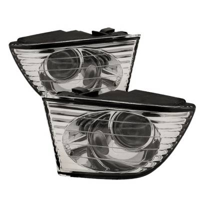 Headlights & Tail Lights - Fog Lights - Spyder Auto - Lexus IS Spyder OEM Fog Lights - Clear - FL-LIS01-C