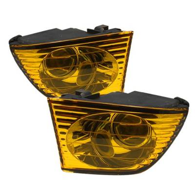 Headlights & Tail Lights - Fog Lights - Spyder - Lexus IS Spyder OEM Fog Lights - No Switch - Yellow - FL-LIS01-Y