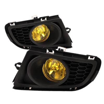 Headlights & Tail Lights - Fog Lights - Spyder - Mazda 6 Spyder OEM Fog Lights - Yellow - FL-MAZDA607-Y