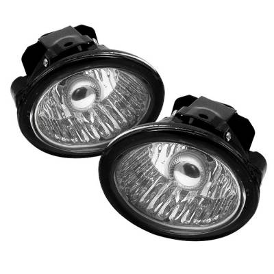 Headlights & Tail Lights - Fog Lights - Spyder - Infiniti FX35 Spyder OEM Fog Lights - Clear - FL-NA02