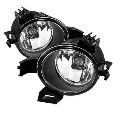 Headlights & Tail Lights - Fog Lights - Spyder - Nissan Quest Spyder OEM Fog Lights - Clear - FL-NA05-C
