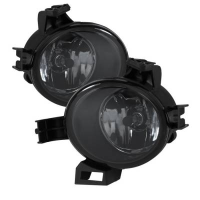 Headlights & Tail Lights - Fog Lights - Spyder - Nissan Altima Spyder OEM Fog Lights - Smoke - FL-NA05-SM