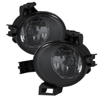 Headlights & Tail Lights - Fog Lights - Spyder - Nissan Quest Spyder OEM Fog Lights - Smoke - FL-NA05-SM