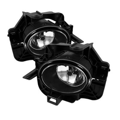 Headlights & Tail Lights - Fog Lights - Spyder - Nissan Altima Spyder OEM Fog Lights - Clear - FL-NA07-4D-C