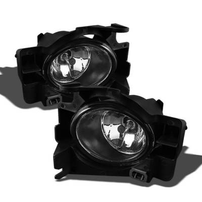 Headlights & Tail Lights - Fog Lights - Spyder - Nissan Altima Spyder OEM Fog Lights - Clear - FL-NA08-2D-C