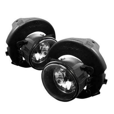Headlights & Tail Lights - Fog Lights - Spyder - Nissan Sentra Spyder OEM Fog Lights - Clear - FL-NP05-C