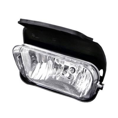 Headlights & Tail Lights - Fog Lights - Spyder - Chevrolet Silverado Spyder OEM Fog Lights - Left - FL-OEM-CS03-L