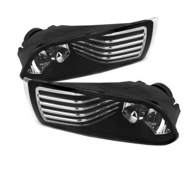 Headlights & Tail Lights - Fog Lights - Spyder - Scion tC Spyder OEM Fog Lights - Clear - FL-STC06