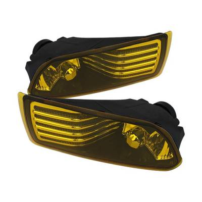Headlights & Tail Lights - Fog Lights - Spyder - Scion tC Spyder OEM Fog Lights - Yellow - FL-STC06-Y