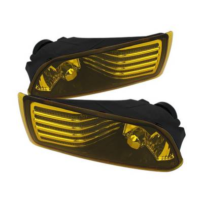 Headlights & Tail Lights - Fog Lights - Spyder Auto - Scion tC Spyder OEM Fog Lights - Yellow - FL-STC06-Y