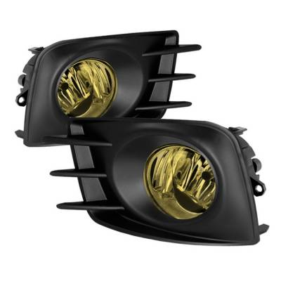 Headlights & Tail Lights - Fog Lights - Spyder - Scion tC Spyder OEM Fog Lights - Yellow - FL-STC2011-Y