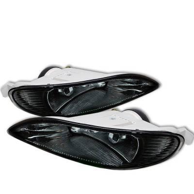 Headlights & Tail Lights - Fog Lights - Spyder - Toyota Corolla Spyder Fog Lights - Smoke - FL-TC03-SM