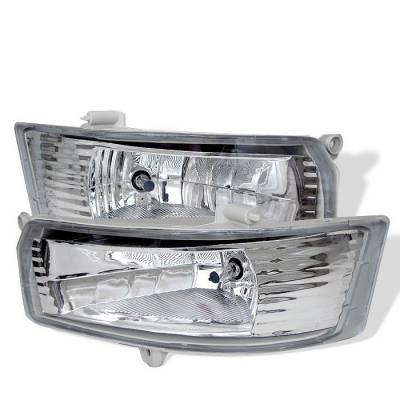 Headlights & Tail Lights - Fog Lights - Spyder - Toyota Camry Spyder OEM Fog Lights - Clear - FL-TCAM05