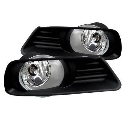Headlights & Tail Lights - Fog Lights - Spyder - Toyota Camry Spyder OEM Fog Lights - Clear - FL-TCAM07