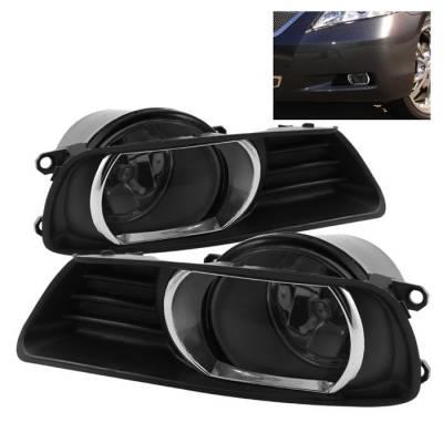 Headlights & Tail Lights - Fog Lights - Spyder - Toyota Camry Spyder OEM Fog Lights - Smoke - FL-TCAM07-SM