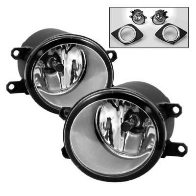 Headlights & Tail Lights - Fog Lights - Spyder - Toyota Camry Spyder OEM Fog Lights - Clear - FL-TCAM2010-C