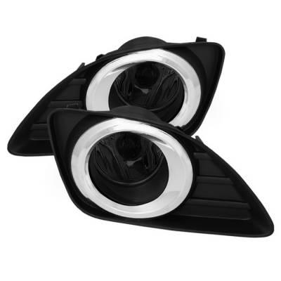 Headlights & Tail Lights - Fog Lights - Spyder - Toyota Camry Spyder OEM Fog Lights - Smoke - FL-TCAM2010-SM
