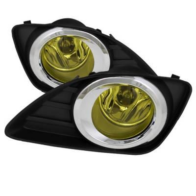 Headlights & Tail Lights - Fog Lights - Spyder - Toyota Camry Spyder OEM Fog Lights - Yellow - FL-TCAM2010-Y