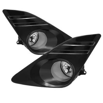 Headlights & Tail Lights - Fog Lights - Spyder - Toyota Camry Spyder OEM Fog Lights - Clear - FL-TCAM2012-C