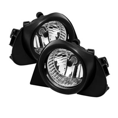 Headlights & Tail Lights - Fog Lights - Spyder - Toyota Highlander Spyder OEM Fog Lights - Clear - FL-TPRI04-C