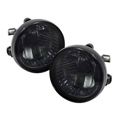 Headlights & Tail Lights - Fog Lights - Spyder - Toyota Echo Spyder OEM Fog Lights - Smoke - FL-TPRI04-SM