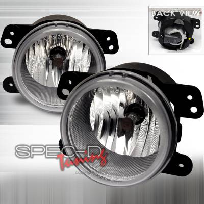 Headlights & Tail Lights - Fog Lights - Spec-D - Chrysler 300 Spec-D OEM Fog Light - Clear - LF-30005COEM-APC