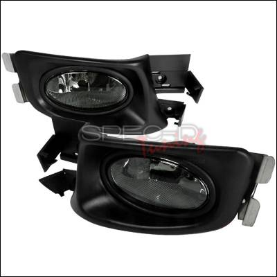 Headlights & Tail Lights - Fog Lights - Spec-D - Honda Accord 4DR Spec-D OEM Fog Lights Smoke - LF-ACD034GOEM-WJ