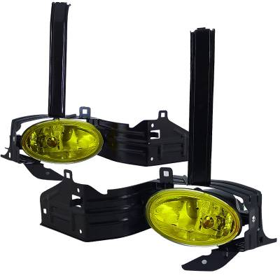 Headlights & Tail Lights - Fog Lights - Spec-D - Honda Accord 2DR Spec-D Fog Lights - LF-ACD082AMOEM-DL