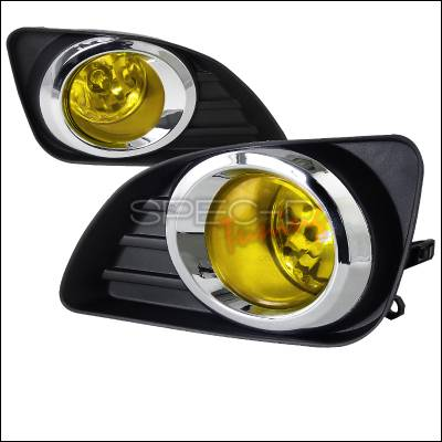 Headlights & Tail Lights - Fog Lights - Spec-D - Toyota Camry Spec-D Fog Lights - Yellow - LF-CAM10AMOEM