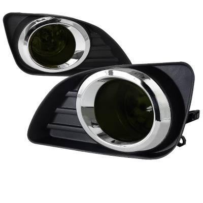 Headlights & Tail Lights - Fog Lights - Spec-D - Toyota Camry Spec-D Fog Lights - Smoke - LF-CAM10GOEM